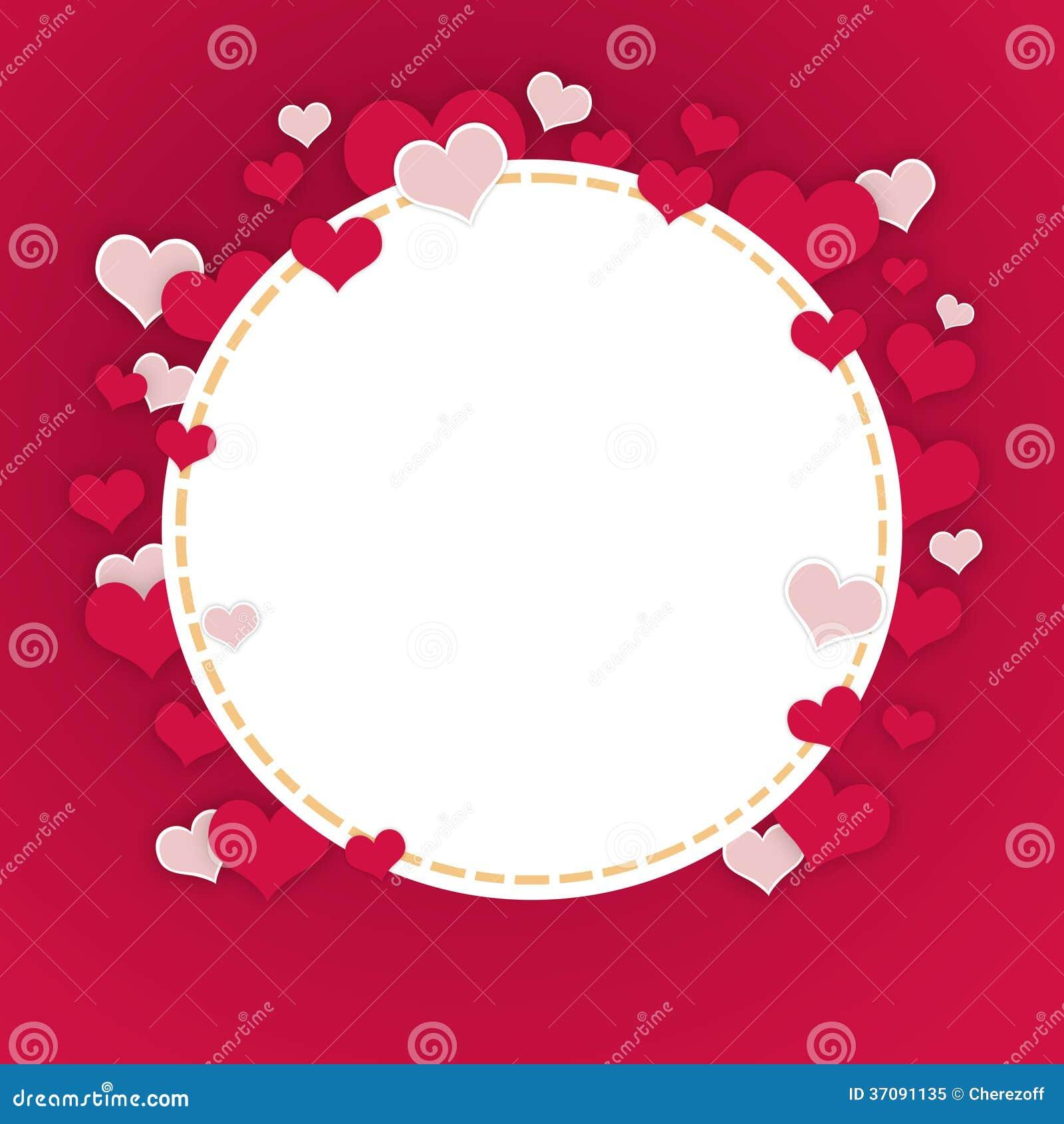Download Abstrakt rama serca ilustracji. Ilustracja złożonej z dużo - 37091135