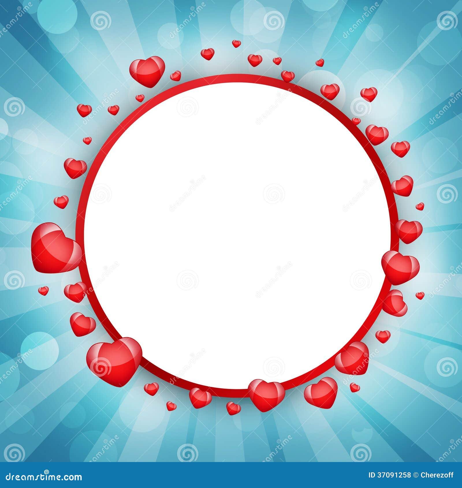 Download Abstrakt rama serca ilustracji. Ilustracja złożonej z dzień - 37091258