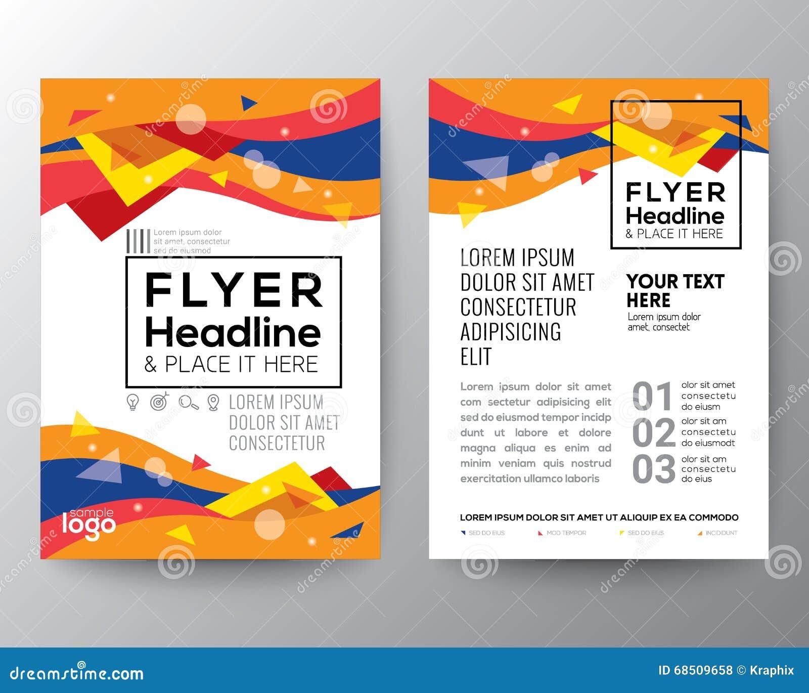 Abstrakt reklamblad för broschyr för affisch för form för våg för kurva för 80-talstiltriangel