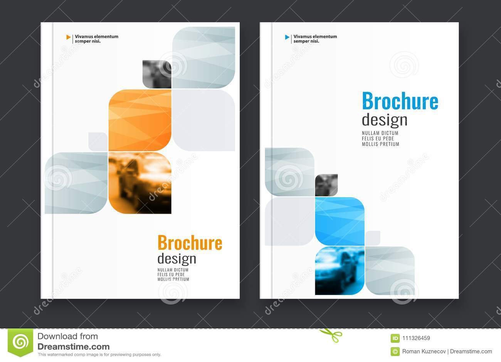Abstrakt reklambladdesignbakgrund Denna är mappen av formatet EPS10