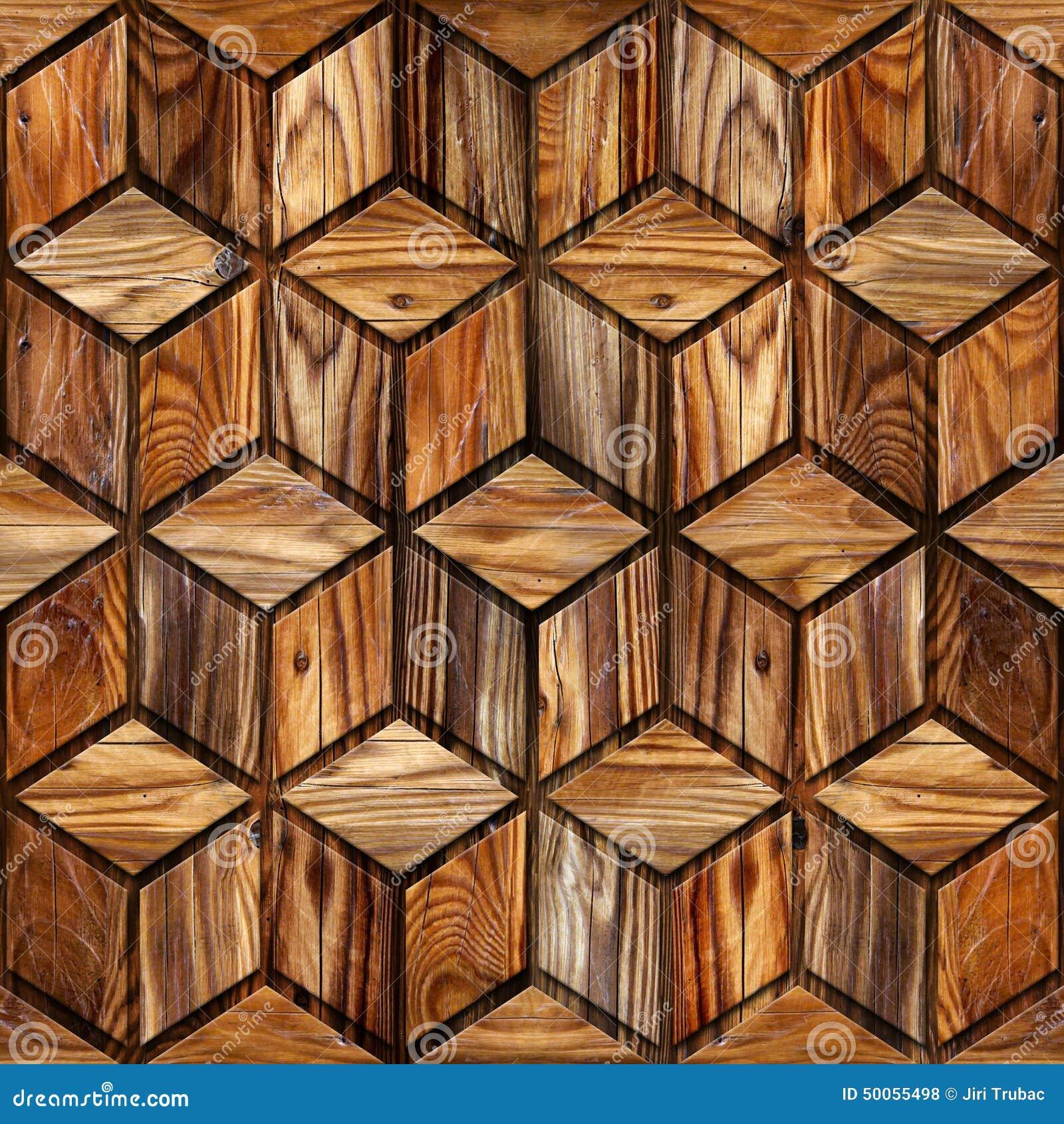 Abstrakt rutig modell - sömlös bakgrund - wood textur