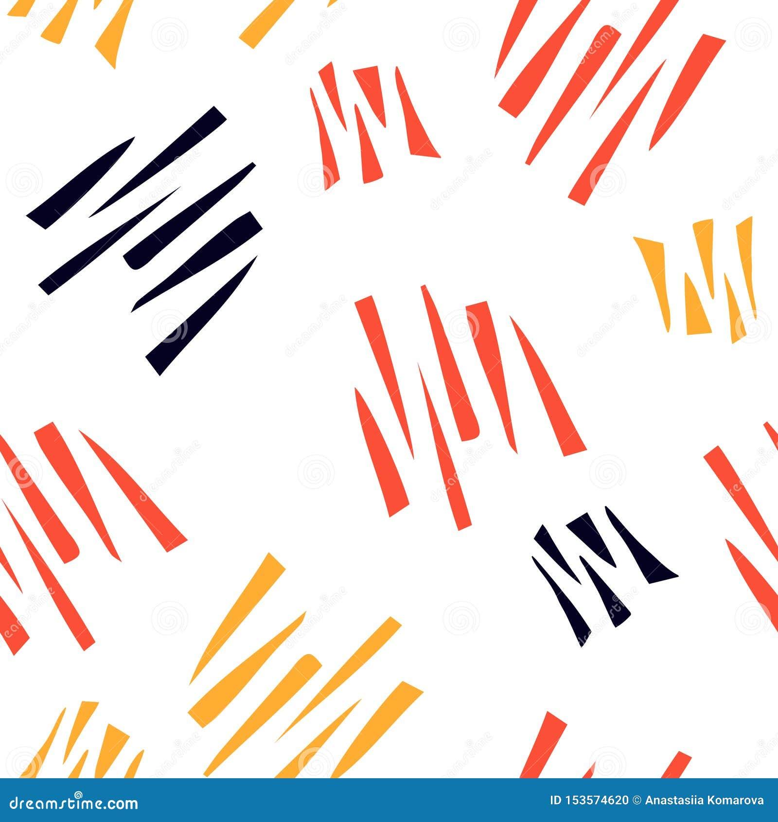 Abstrakt sömlös modell med grafiska beståndsdelar, moderna abstrakta former Avantgardecollagestil