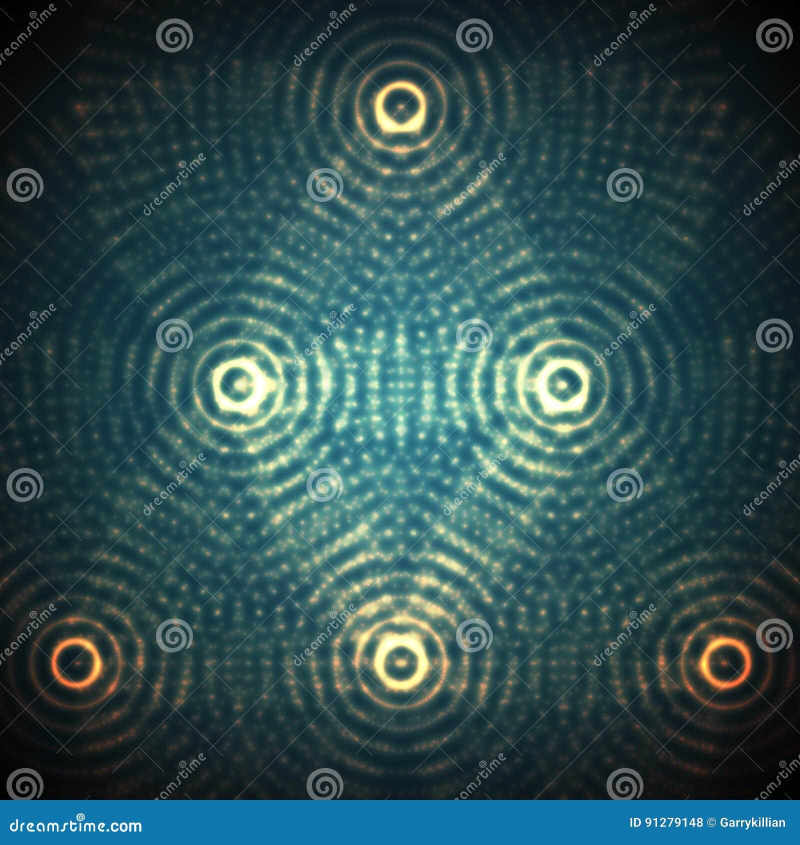 Abstrakt sfär för vektor av partiklar, punktsamling futuristic illustrationvektor Digital färgstänk för teknologi eller