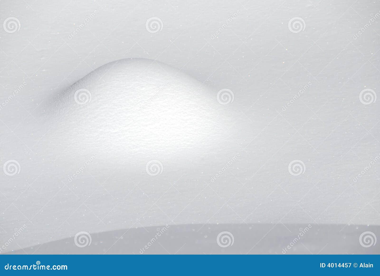 Abstrakt snow