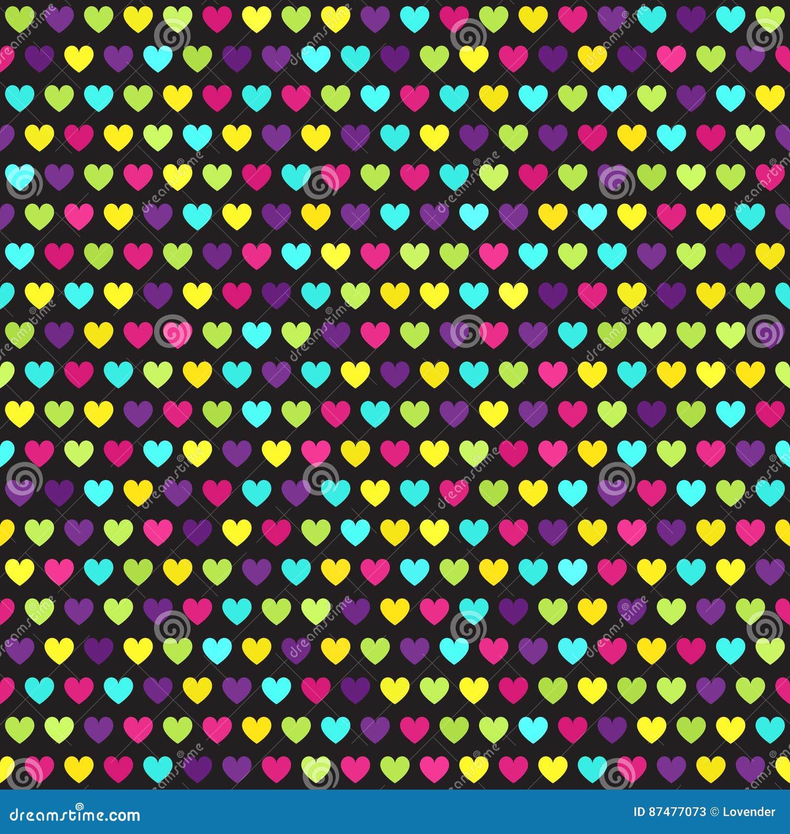 Abstrakt text för avstånd för modell för förälskelse för bild för begreppshjärtaillustration seamless vektor för bakgrund