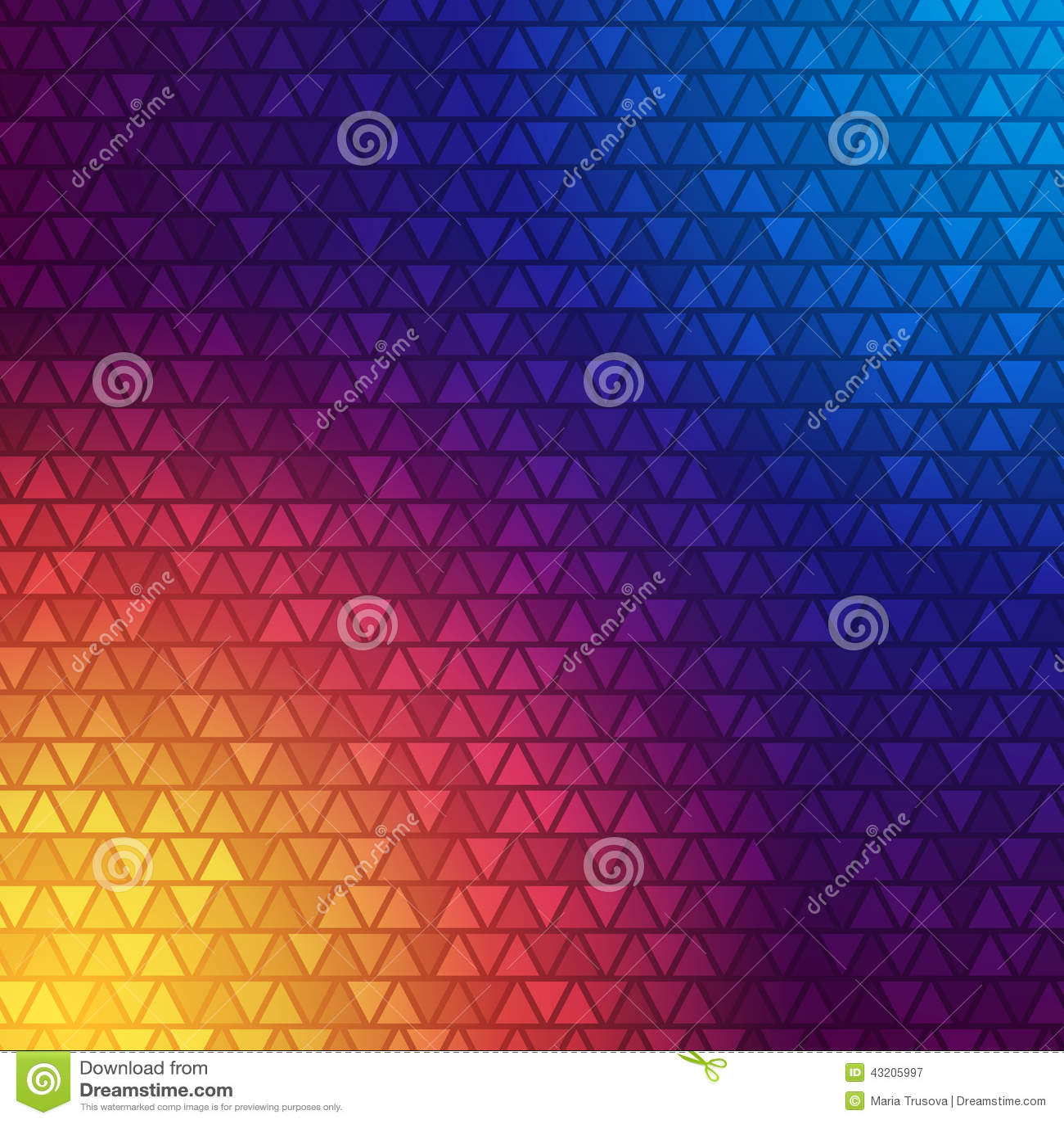 Download Abstrakt Triangelbakgrund För Vektor Vektor Illustrationer - Illustration av design, dekorativt: 43205997