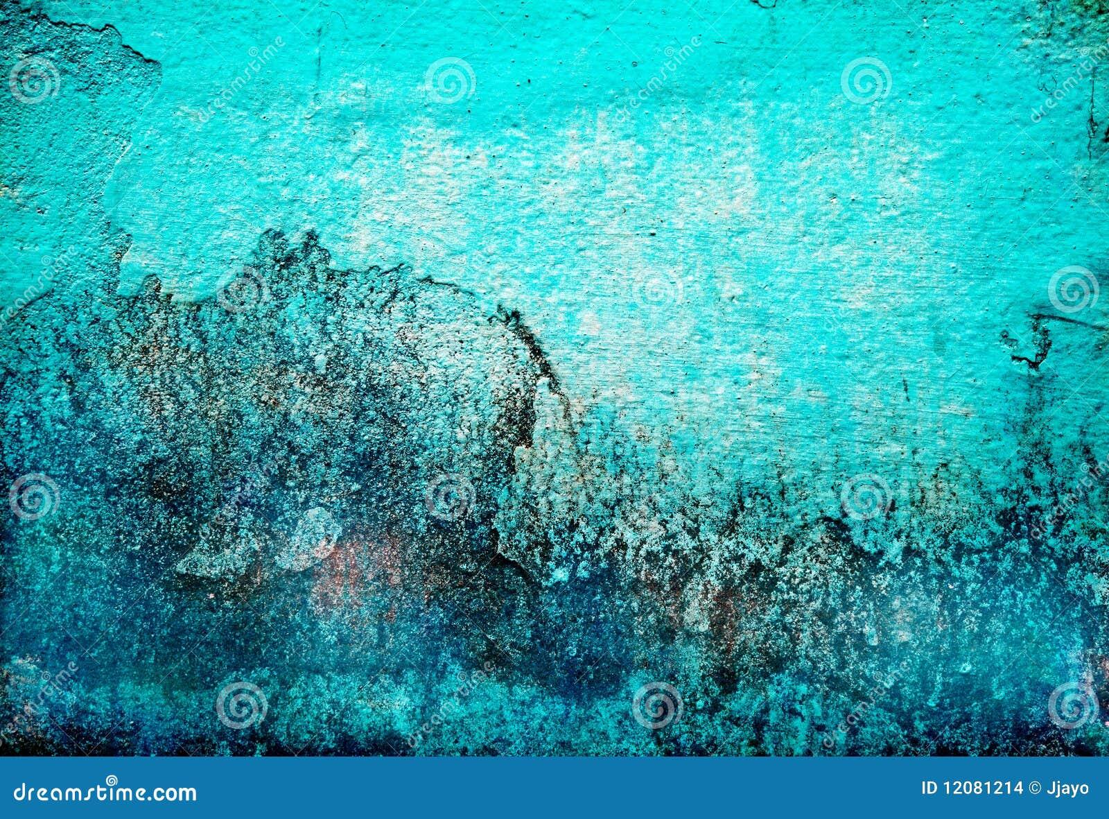 Abstrakt turkos för bakgrundsgrungetextur