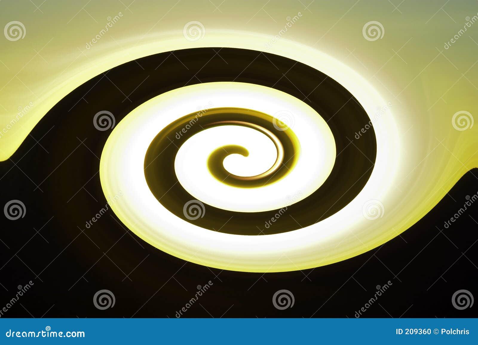 Abstrakt twirl