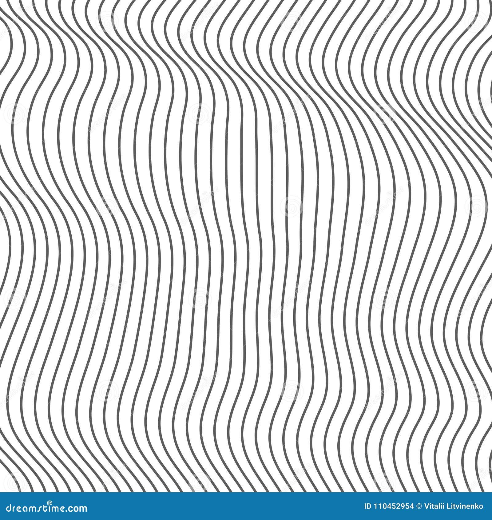Abstrakt vågbeståndsdel för design Stiliserad linje konstbakgrund också vektor för coreldrawillustration Den krökta krabba linjen