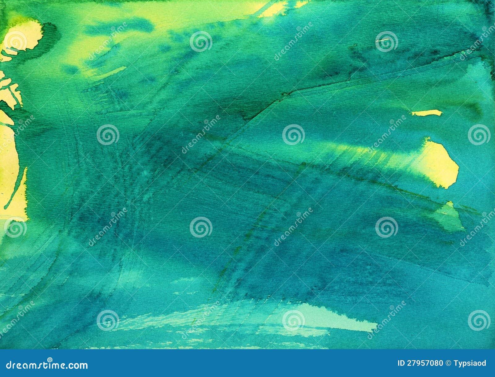 Abstrakt vattenfärgbakgrund