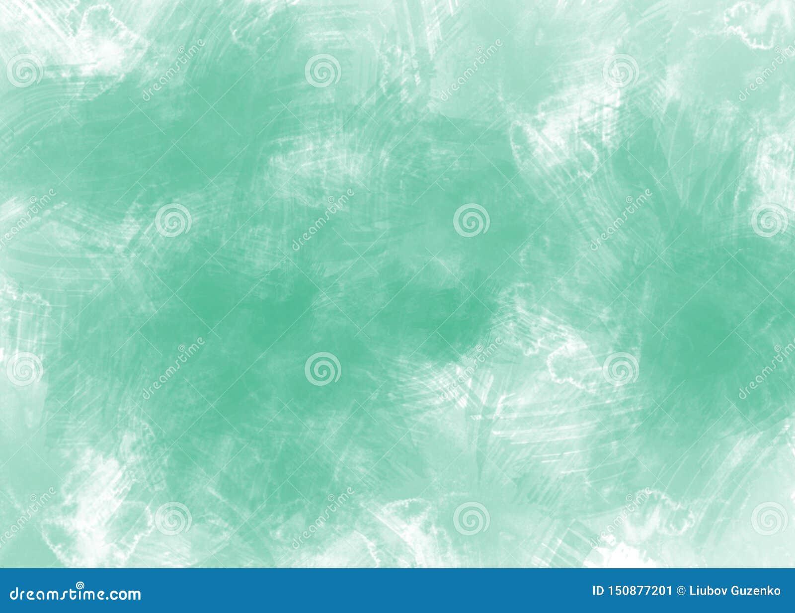Abstrakt vattenfärggräsplanbakgrund på vitbok
