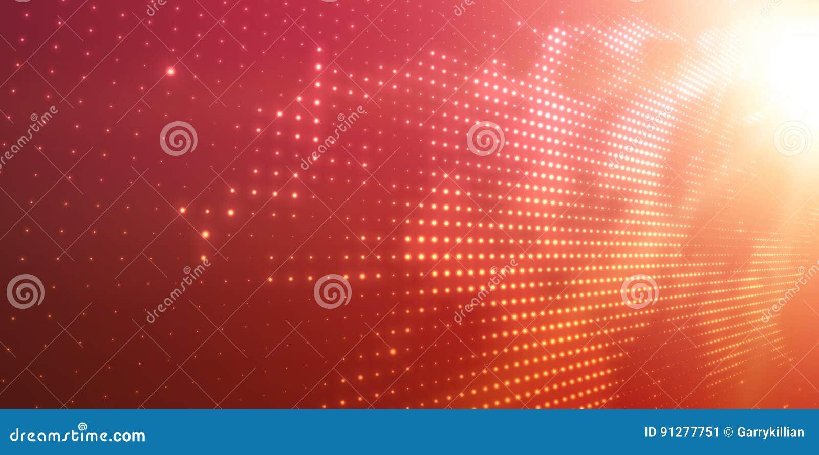 Abstrakt vektorbakgrund med glänsande neonljus Neontecken med abstrakt bild i perspektiv