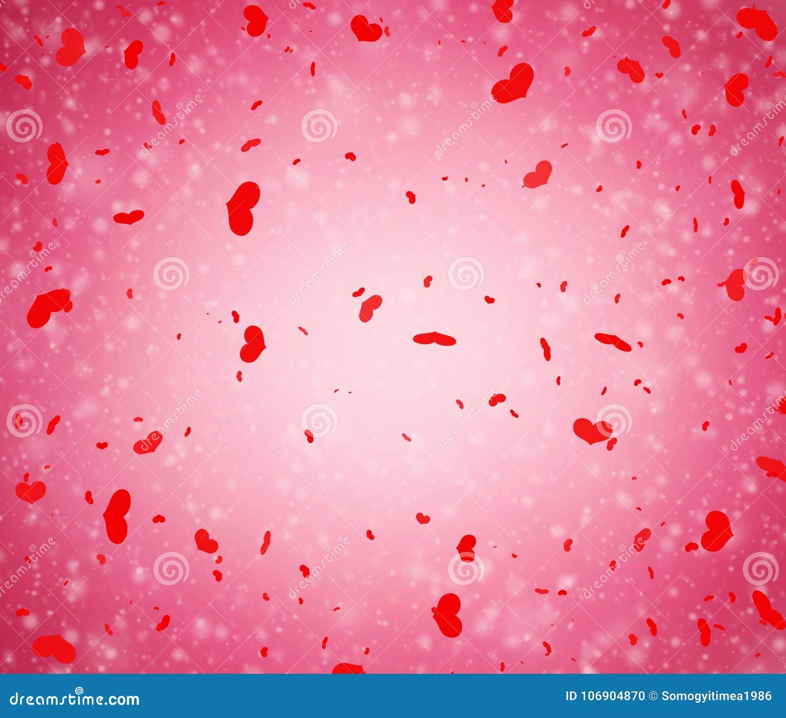 Abstrakt walentynki ` s dnia różowy tło