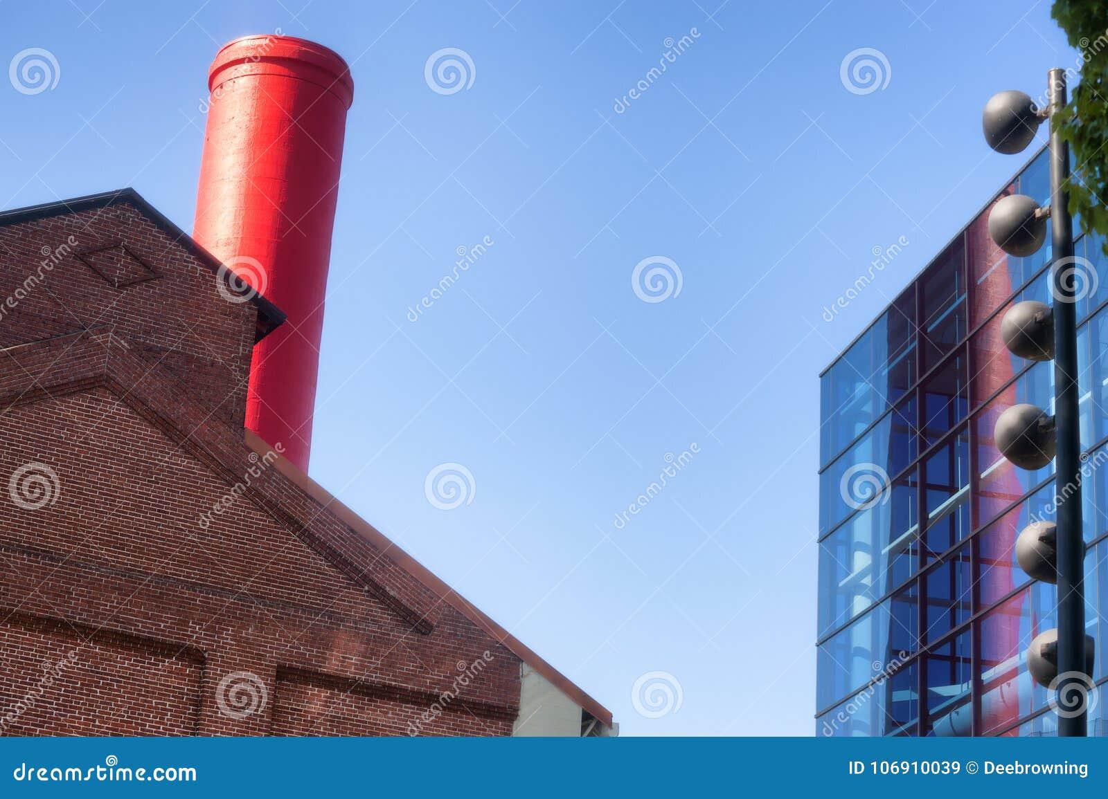 Abstrakt wierzchołek budynki
