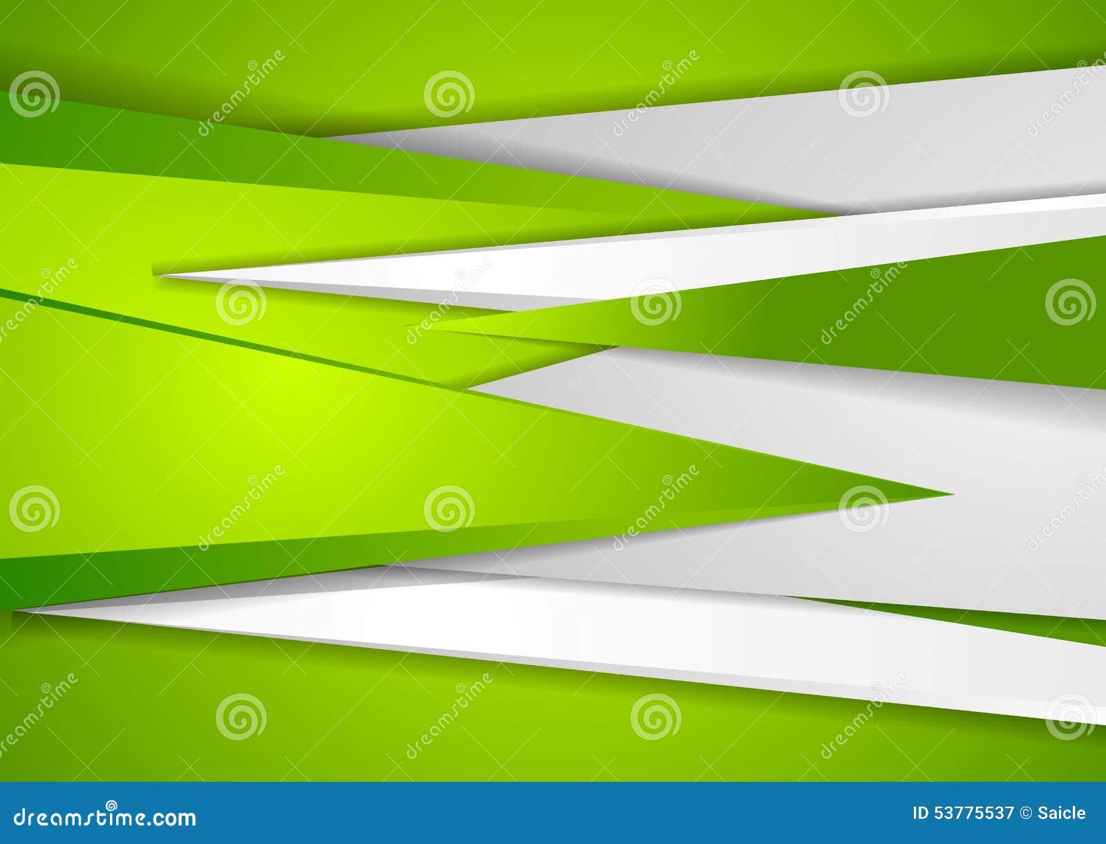 Abstrakt zielonej techniki korporacyjny tło