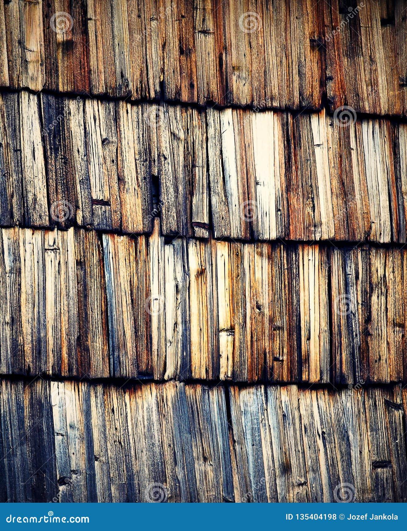 Abstrakta cięcie starzy drewniani gonty