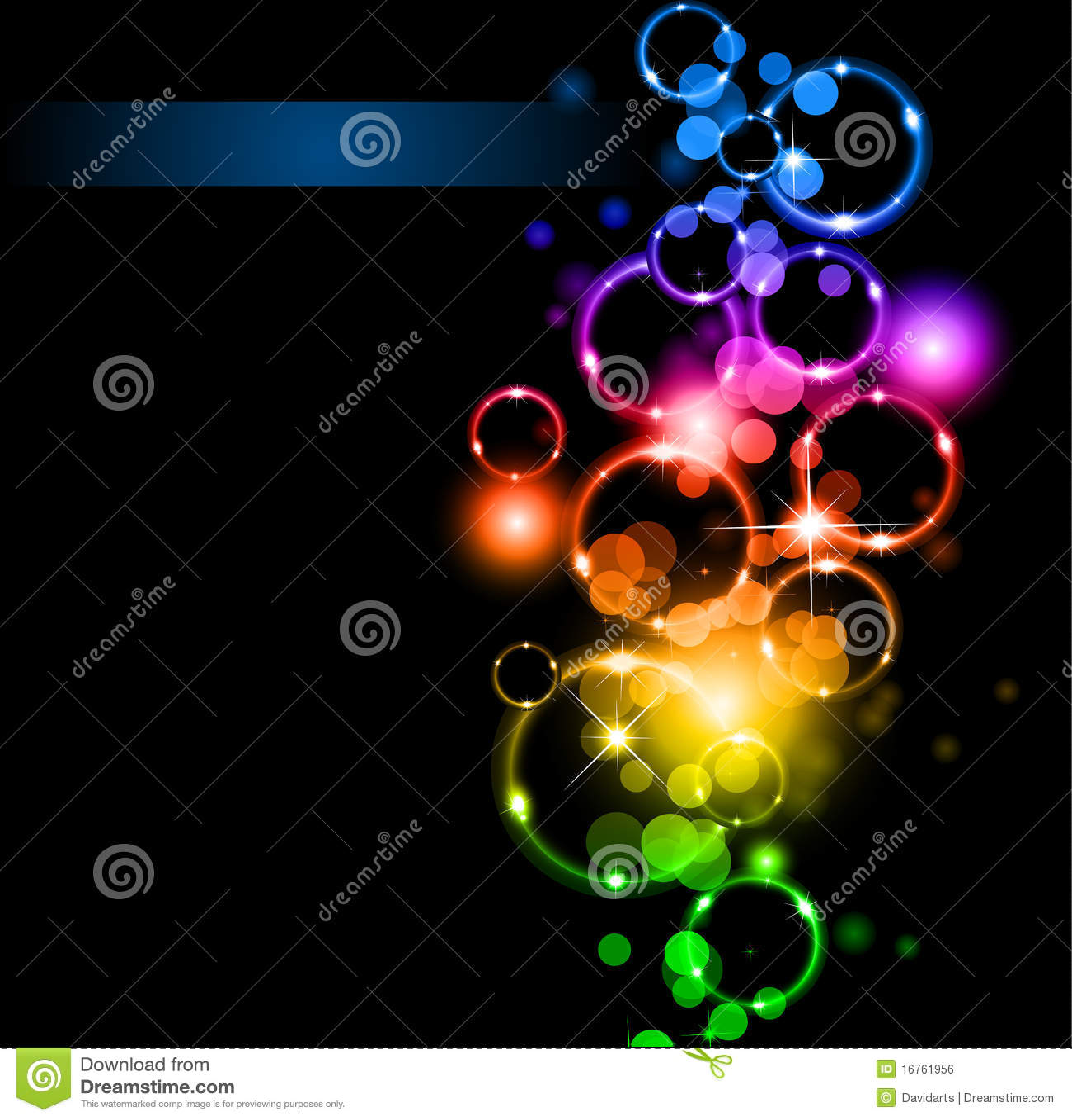 Abstrakta colours świateł tęcza błyska