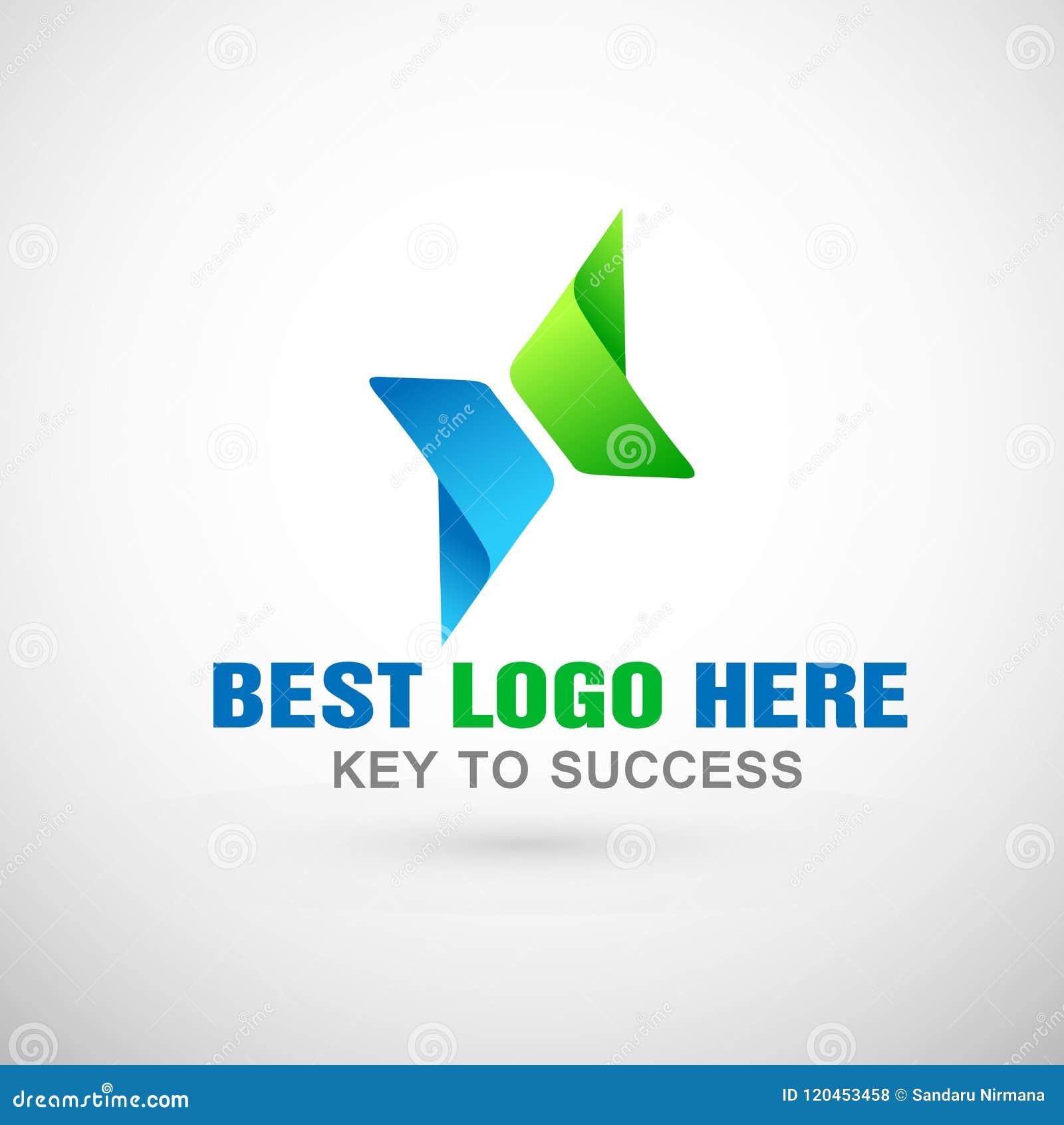 Abstrakta dwa kierunki skupiali się loga, sukces na Korporacyjnym Inwestują Biznesowego loga projekt Pieniężnej inwestyci logo