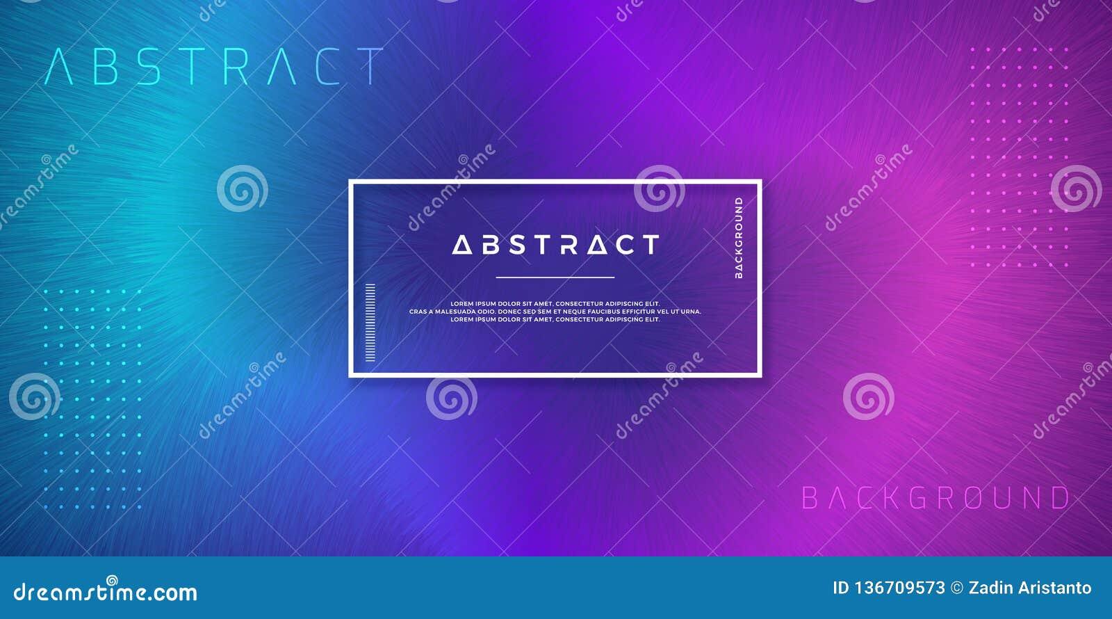 Abstrakta, dynamiska moderna bakgrunder för dina designbeståndsdelar och andra, med purpurfärgat och ljust - blå lutningfärg