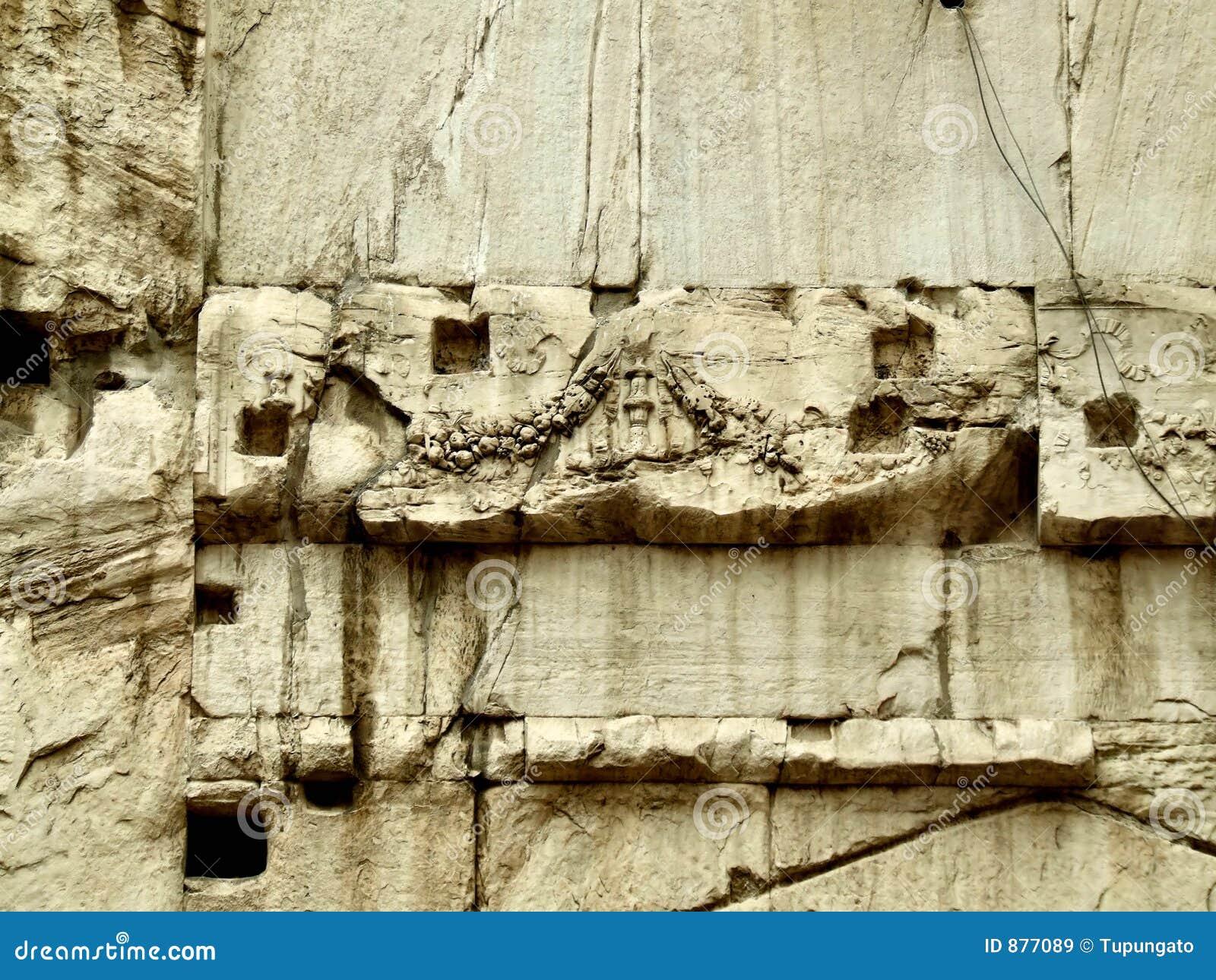 Abstrakta gnicia kamień