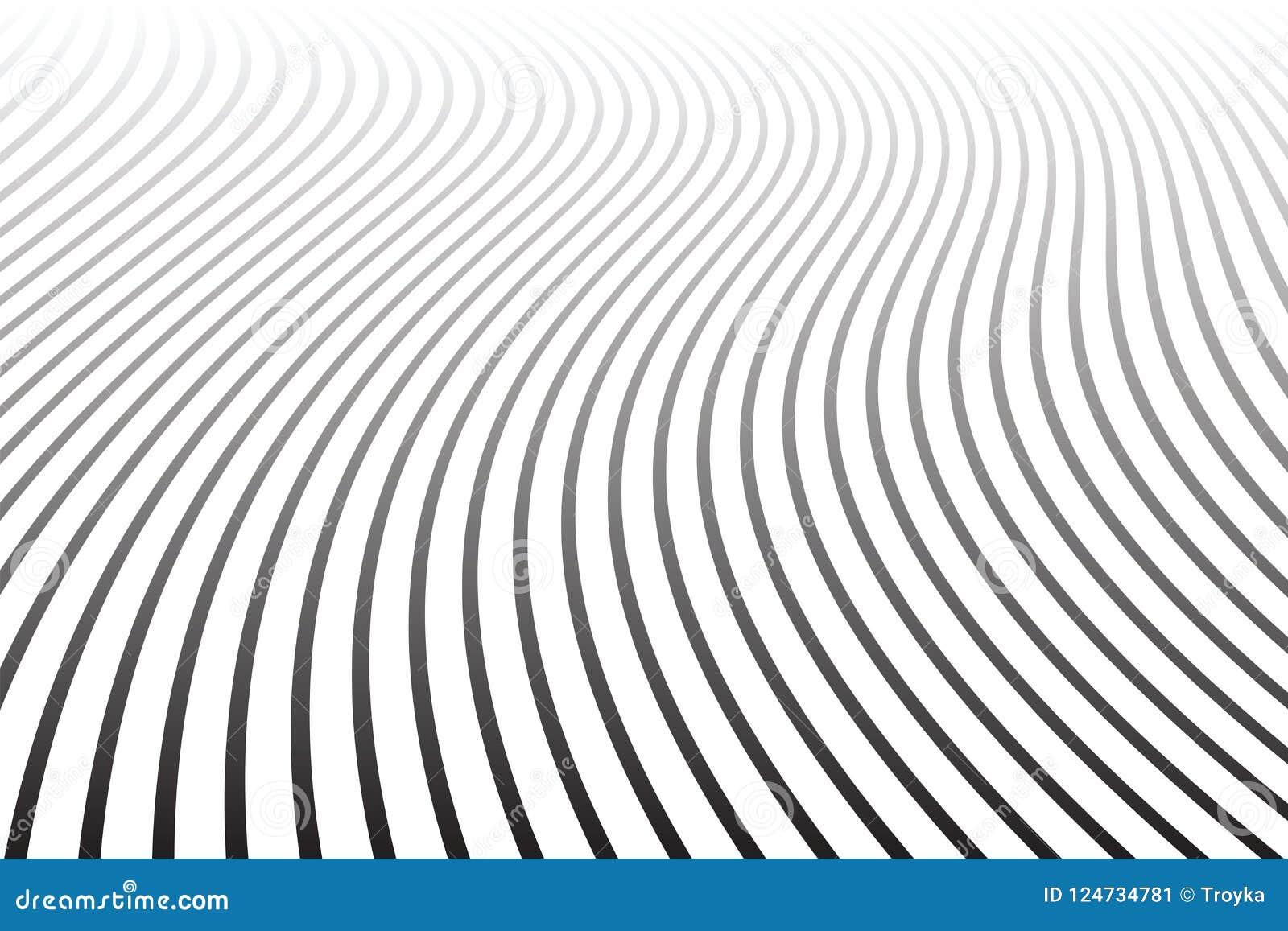 Abstrakta krabba linjer design Minska perspektivsikt