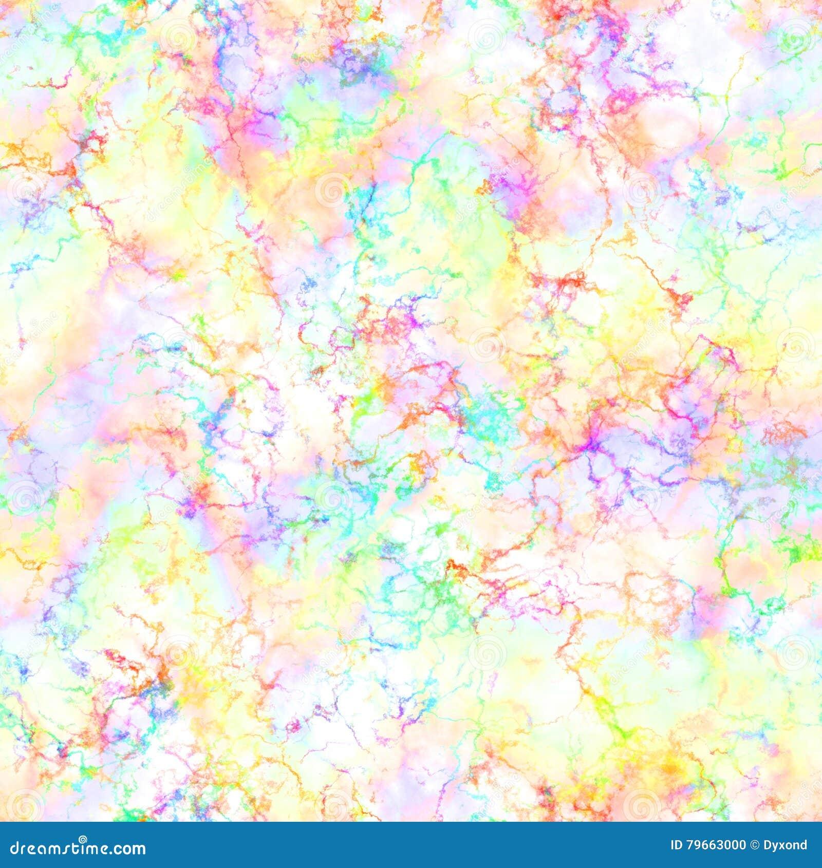 Abstrakta lekki kolorowy dym na białym tle Multicolor chmury Tęcza chmurny wzór plamy tekstura ilustraci bezszwowy linowy
