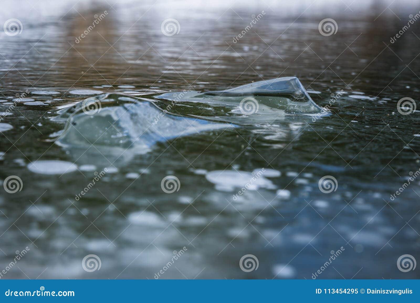 Abstrakta lodowy tło z szczegółami