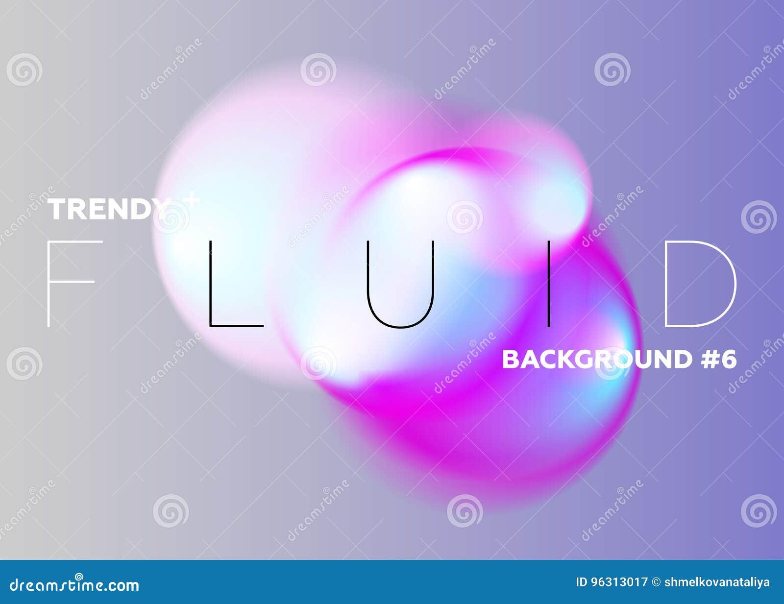 Abstrakta lutningsuddigheter för pastell Moderiktiga vibrerande vätskefärger des