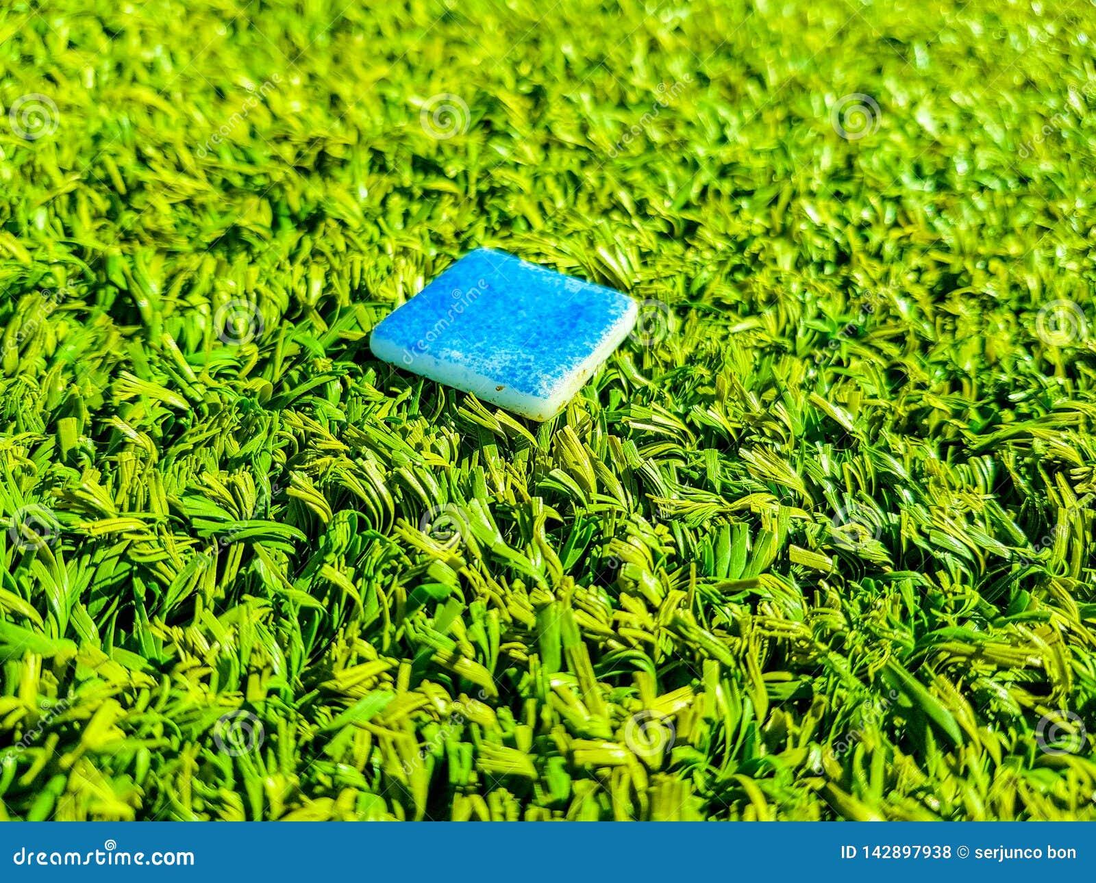 Abstrakta naturliga bakgrunder av grönt gräs