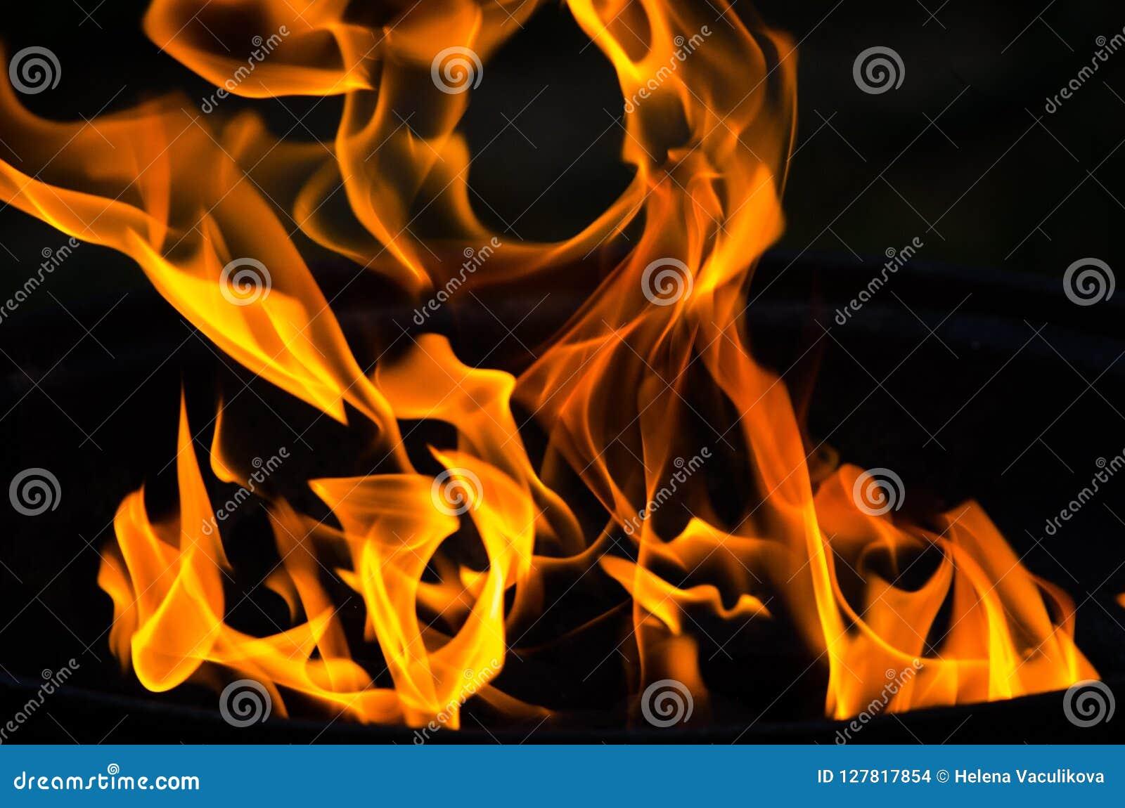 Abstrakta ogień