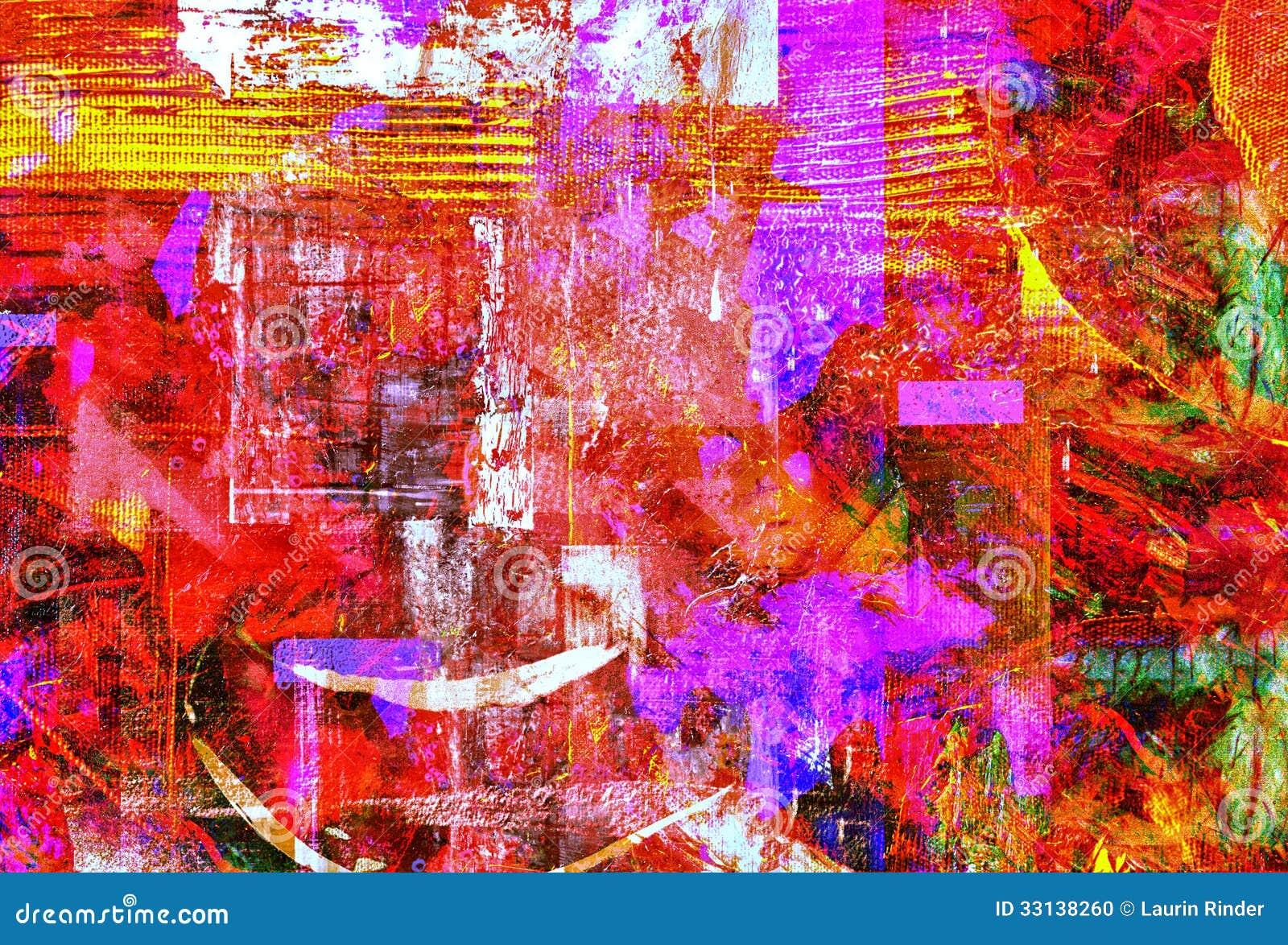 Abstrakta olej