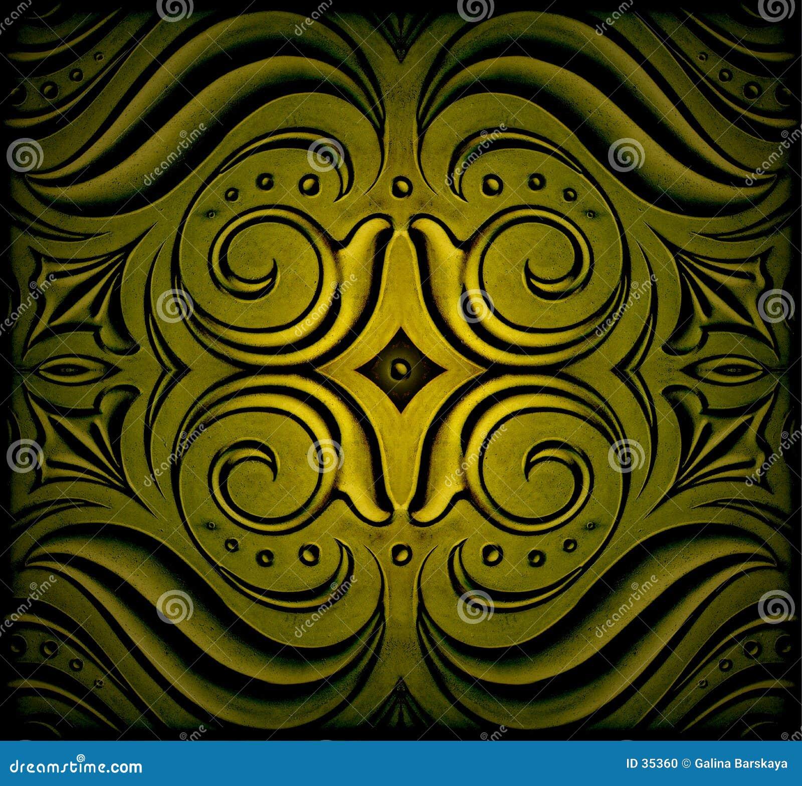 Abstrakte Dekoration