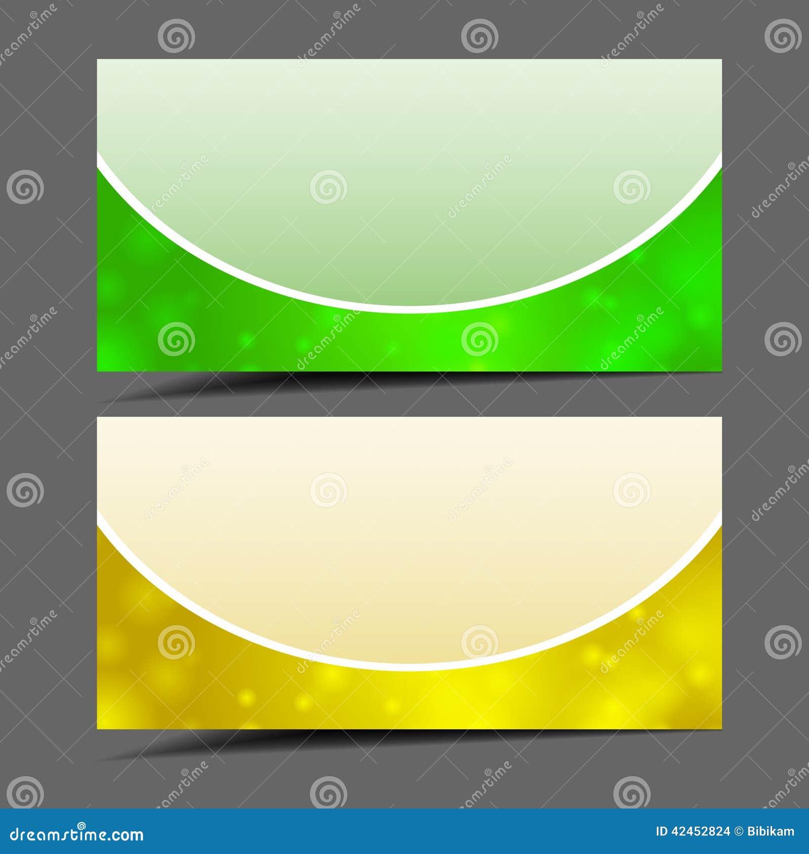 Abstrakte Designfarbfahnen
