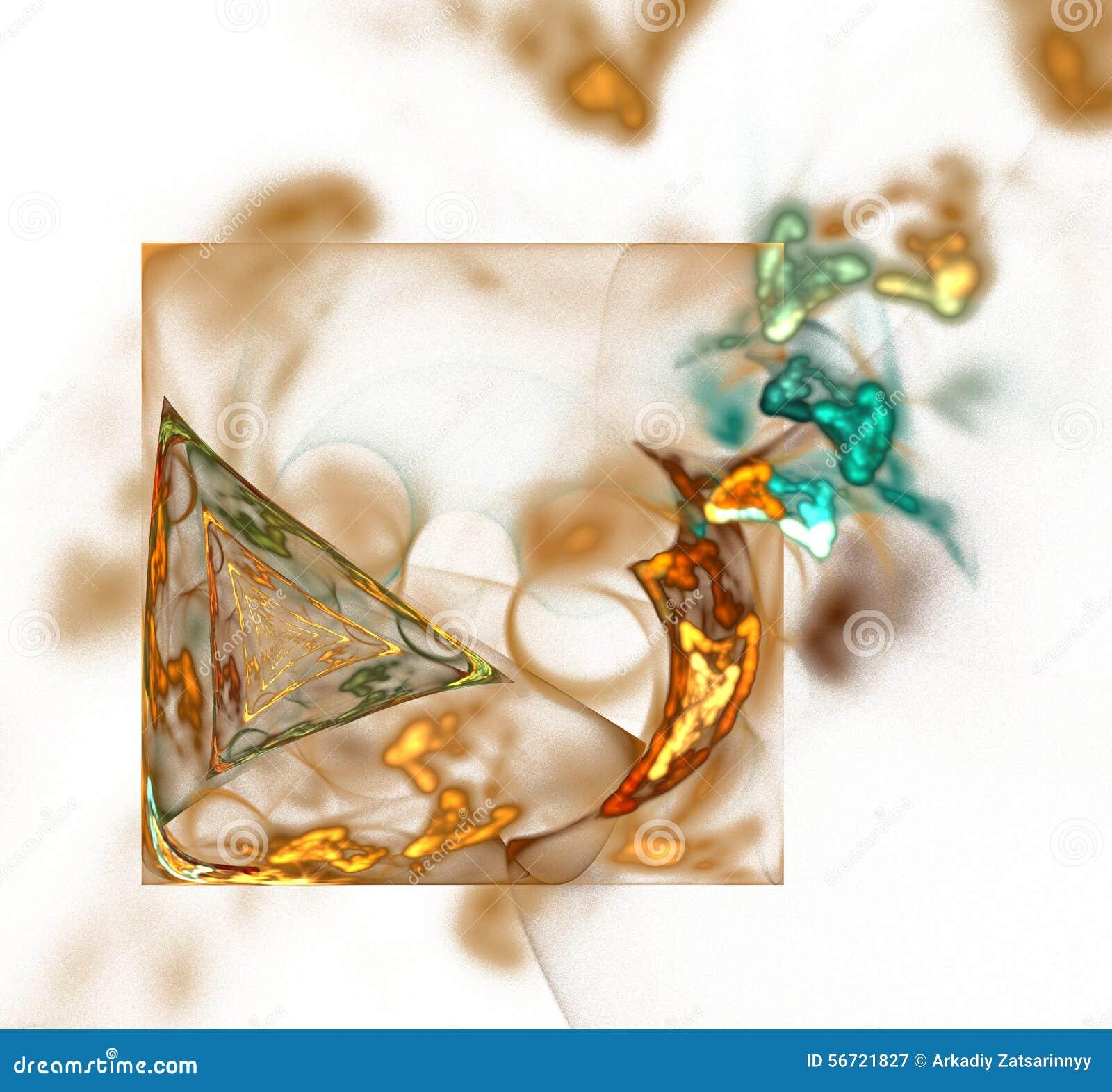 Abstrakte Fractal-Auslegung