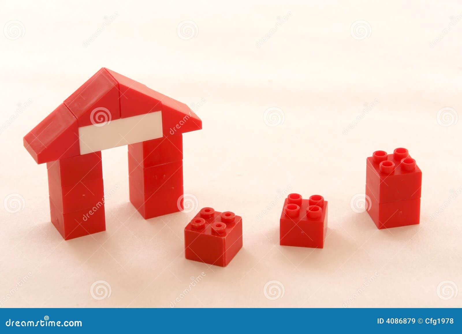 Abstrakte Häuser