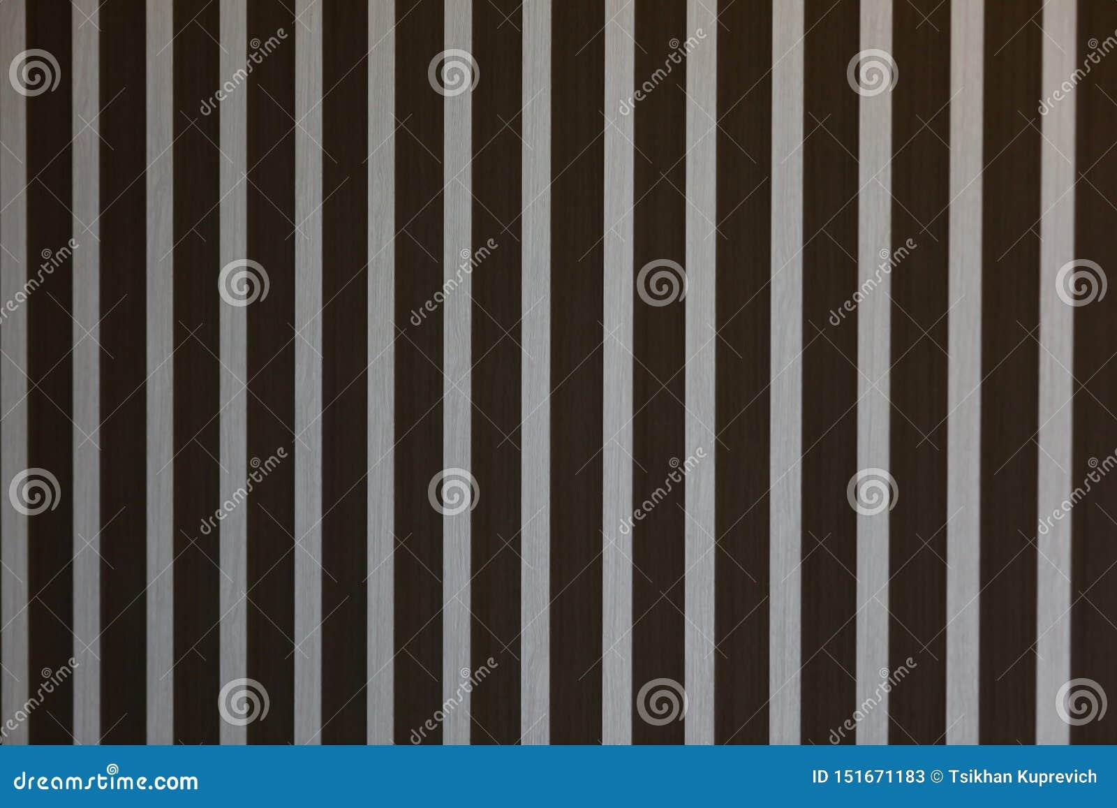 Abstrakte Holzleistewand