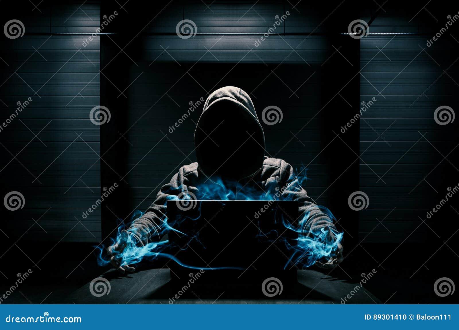 Abstrakte Konzeption des Hackers