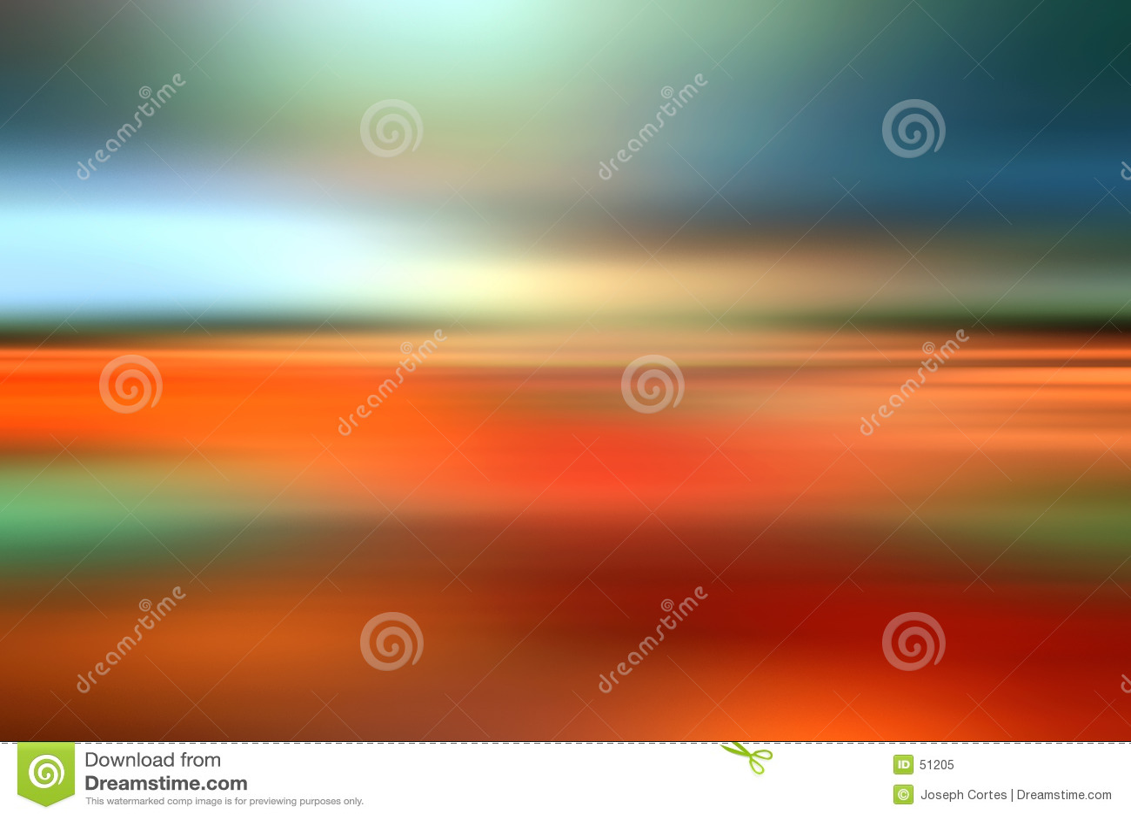 Abstrakte Landschaftsunschärfenfarben