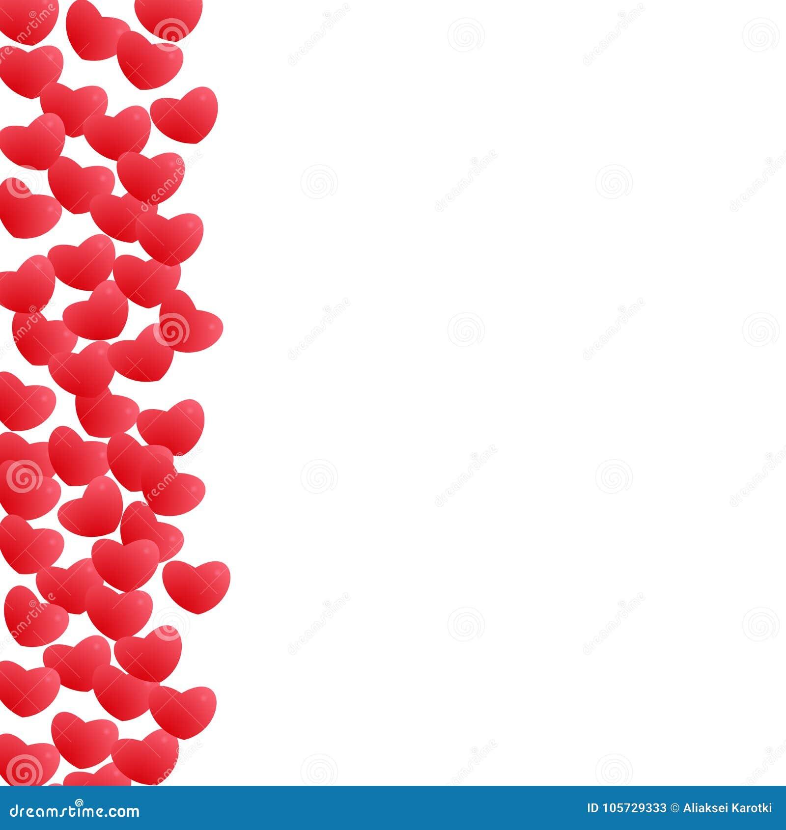 Abstrakte Liebe Für Ihr Valentinsgruß-Tagesgruß-Kartendesign Roter ...