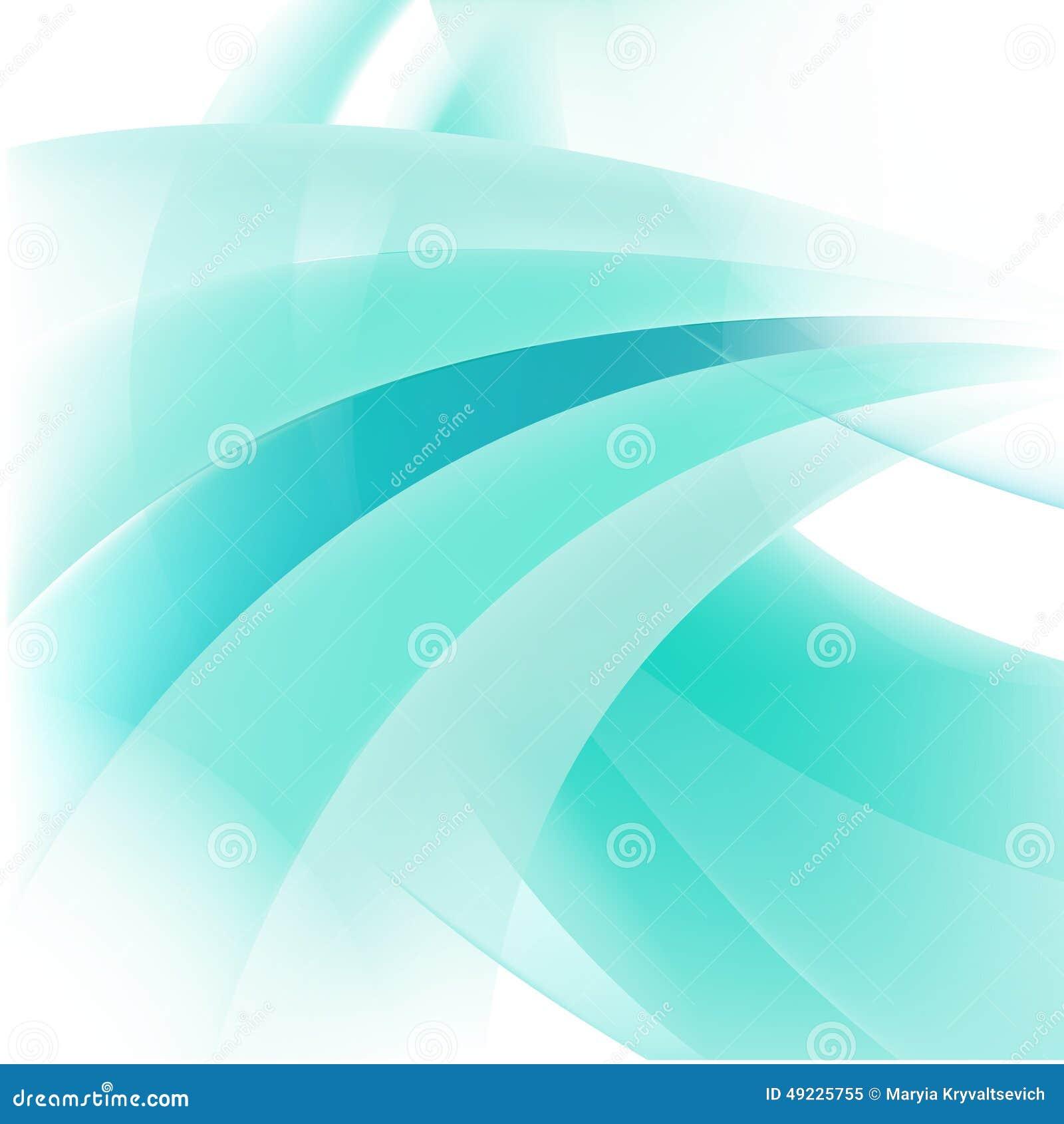 Abstrakte Linie Grünhintergrund des Vektors