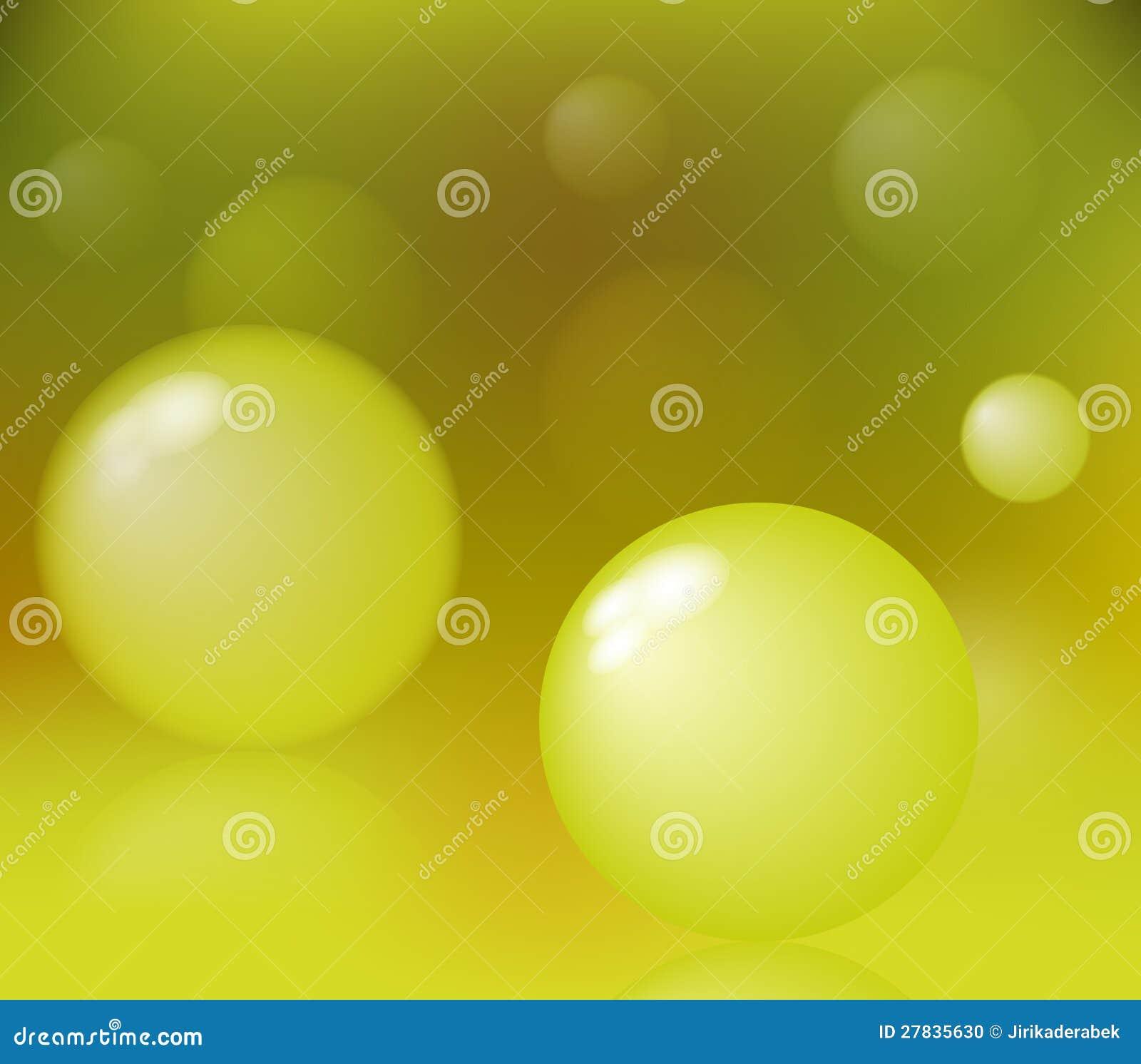 Abstrakte Luftblasen