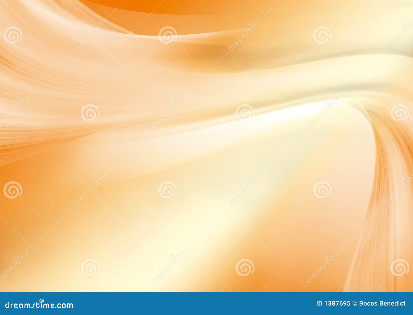 Abstrakte Orange