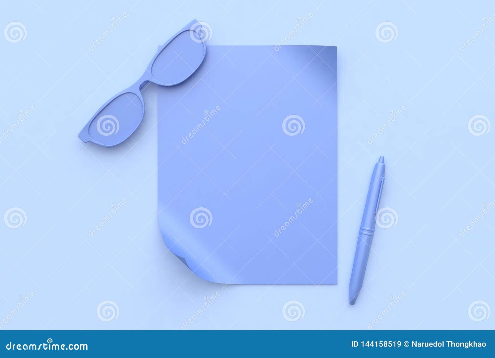 Abstrakte purpurrot-violette Szene alle Gläser des Gegenstandleeren papiers sperren 3d ein zu übertragen