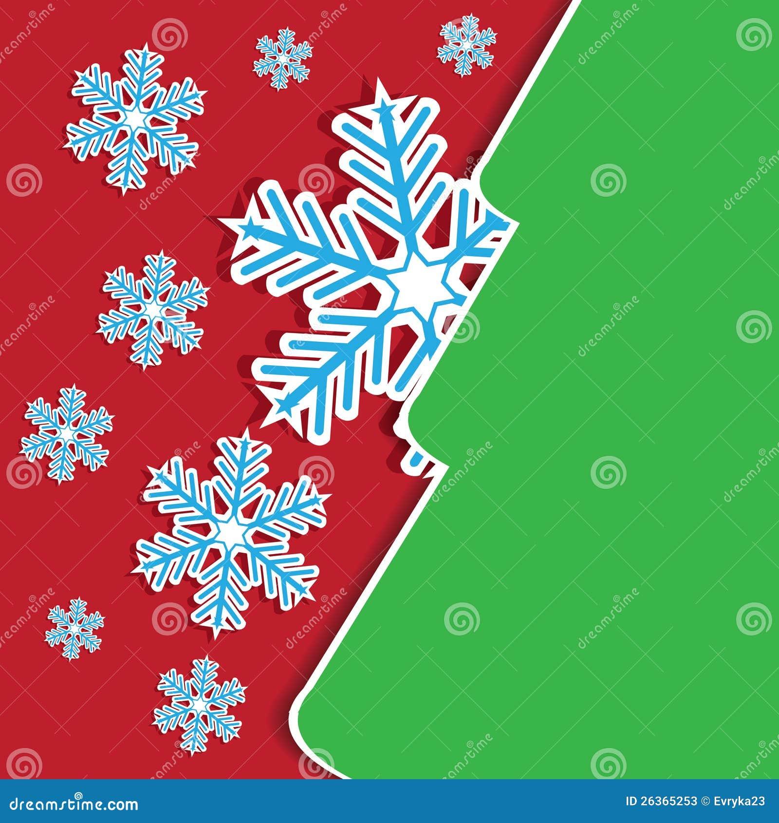 Abstrakte Weihnachtsfeiertags-Grußkarte