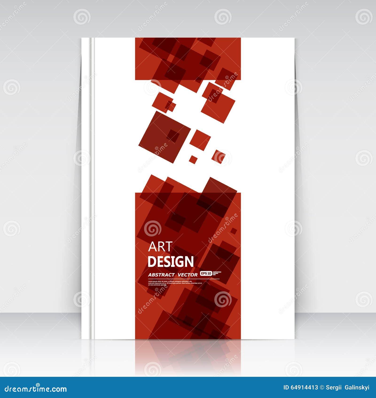 Abstrakte Zusammensetzung, Quadratische Textrahmenoberfläche, Rotes ...