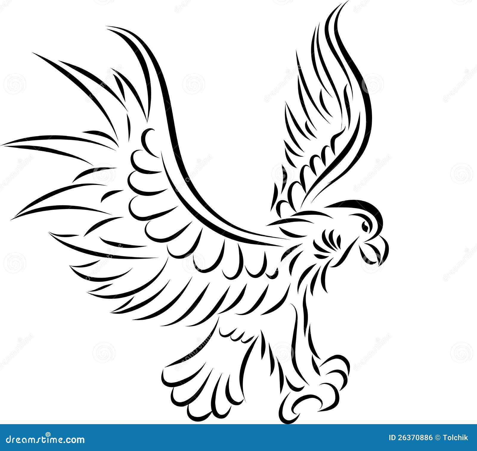 Abstrakter Adler, Vektor