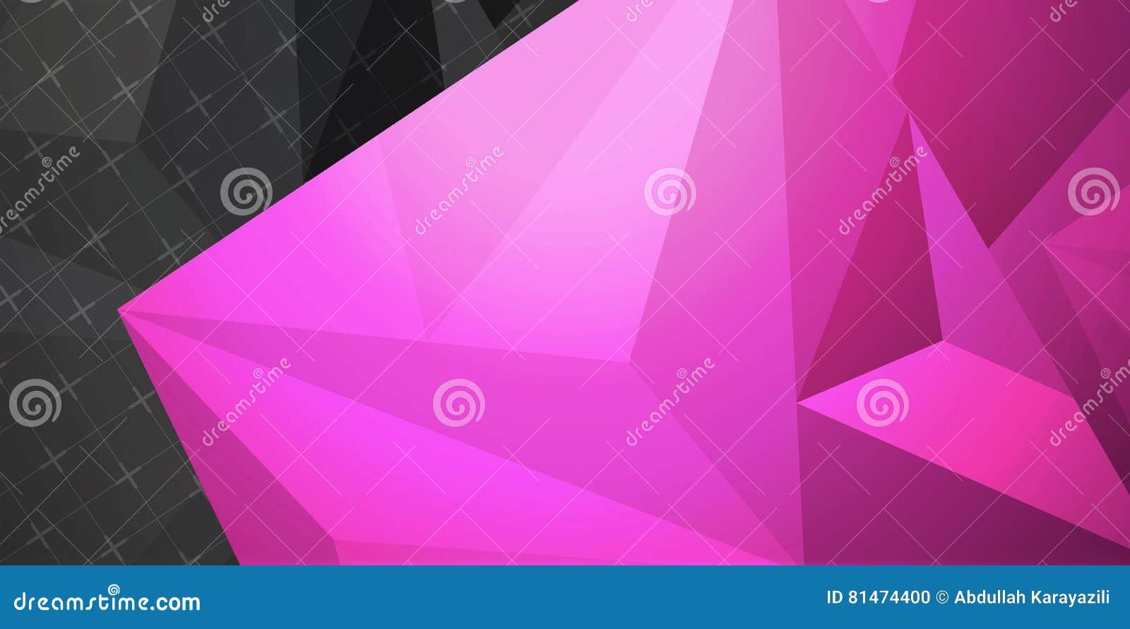 Abstrakter bunter Hintergrund, geometrische niedrige Polyart