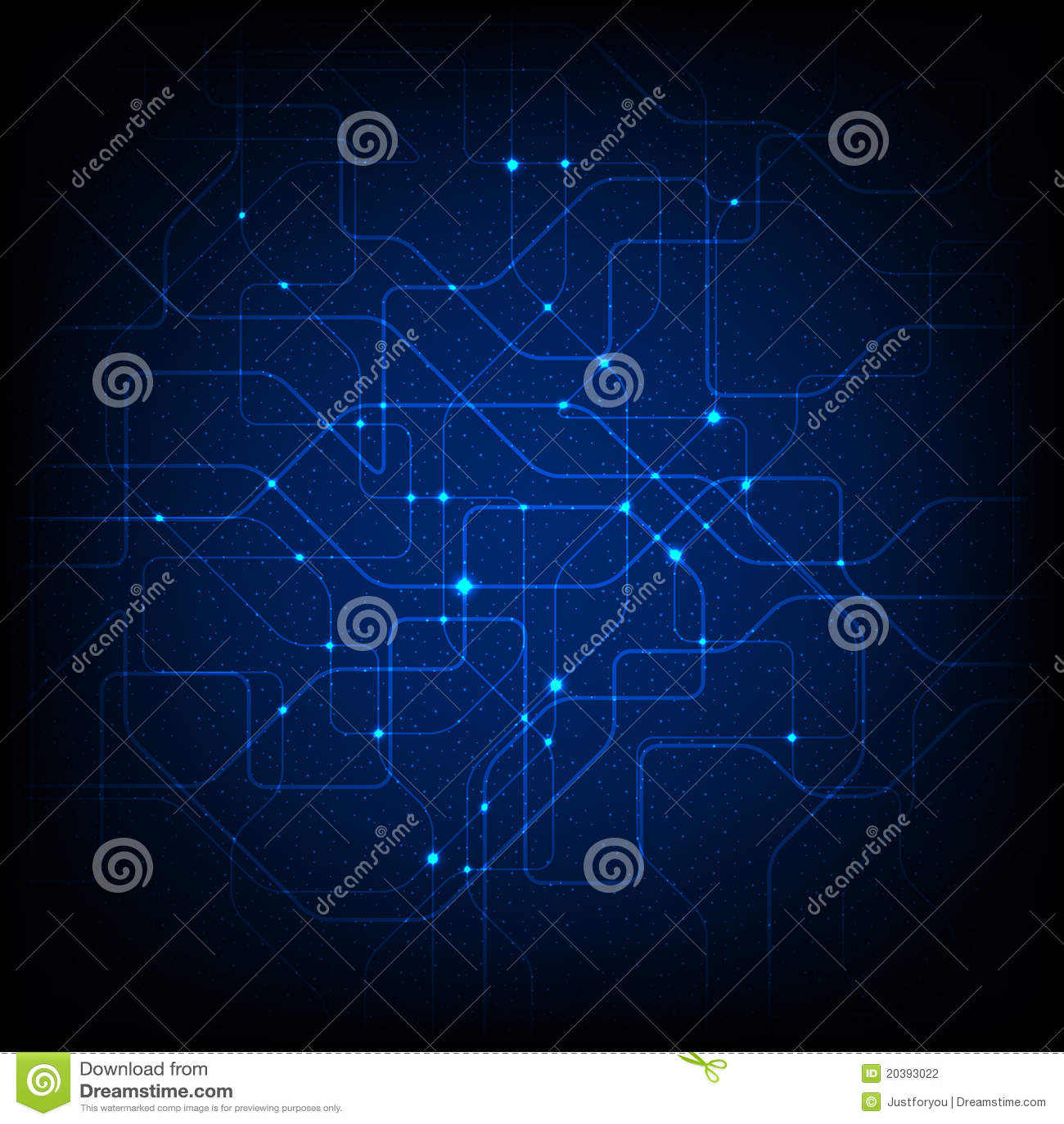 Abstrakter Chip-Hintergrund