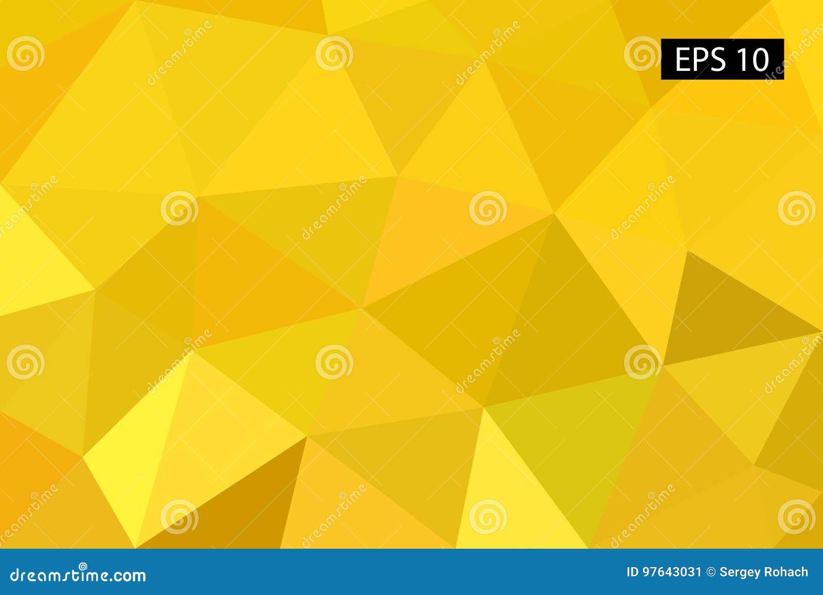 Abstrakter Geometrischer Hintergrund, Von Den Polygonen, Dreieck ...