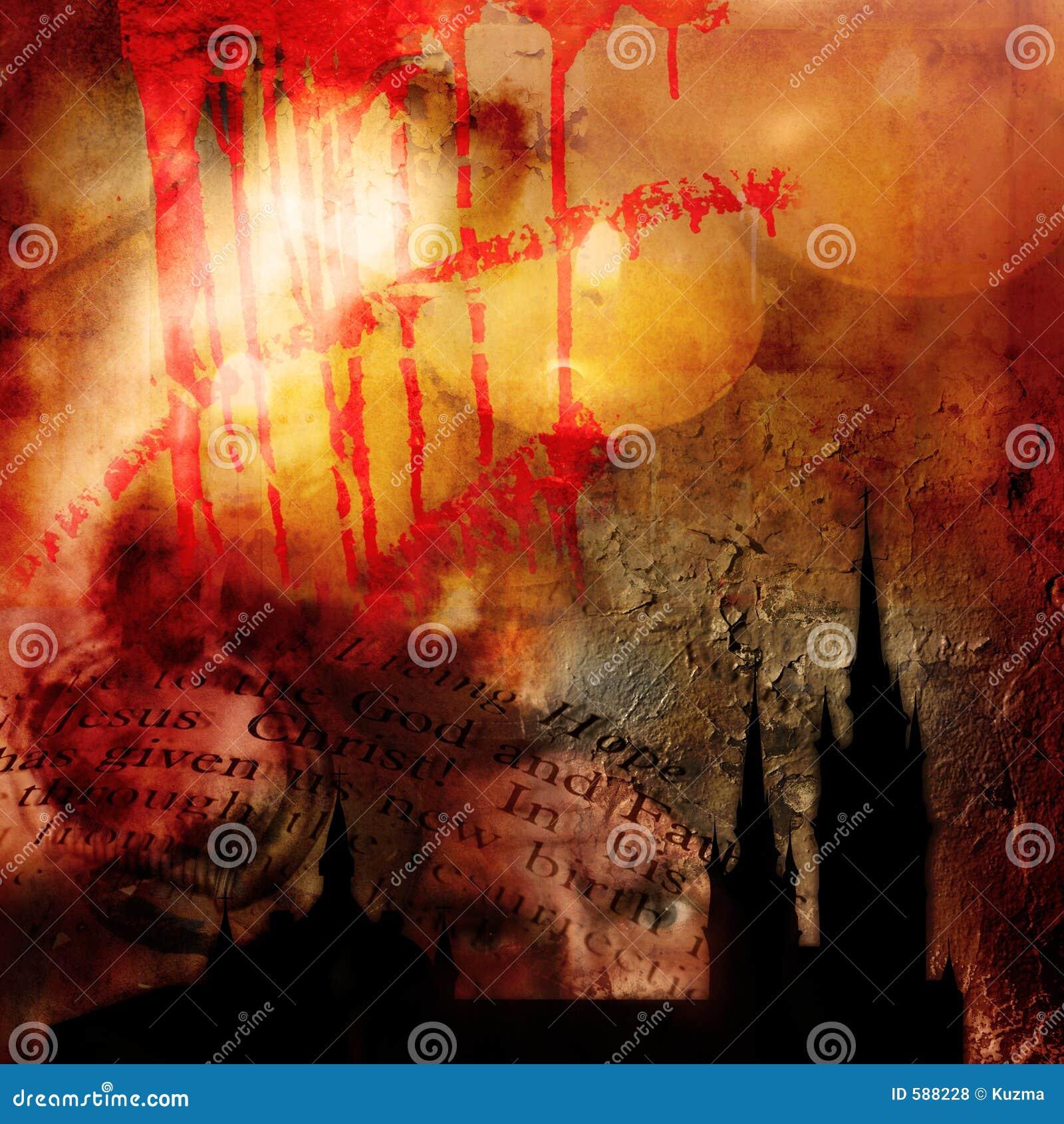 Abstrakter gotischer Hintergrund